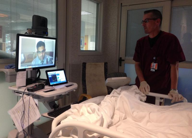 To better serve the growing number of insured patients, some hospitals are turning to the telemedicine.