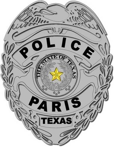 Paris police released a statement saying that on Sept. 3, the department received allegations of criminal mischief and stalking against officer Pedro Barrios.