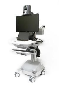 Picture of a high tech telemedicine.