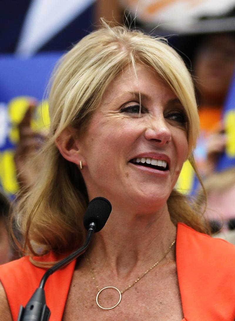 Dem. Wendy Davis continues to fight for her campaign to become governor of Texas.