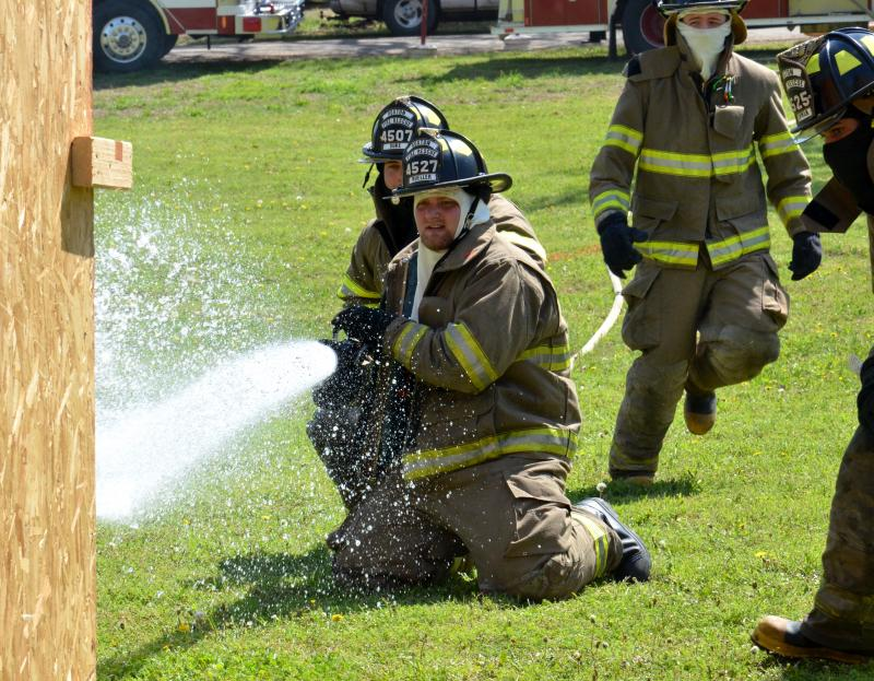 "The Roxton Fire Depatment's ""firemen's competition""."