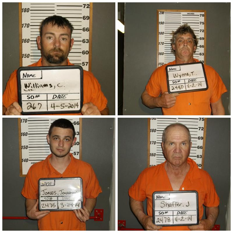 Four men have been arrested as a result of the multi-agency investigation into cattle thefts in Northeast Texas during March 2014.