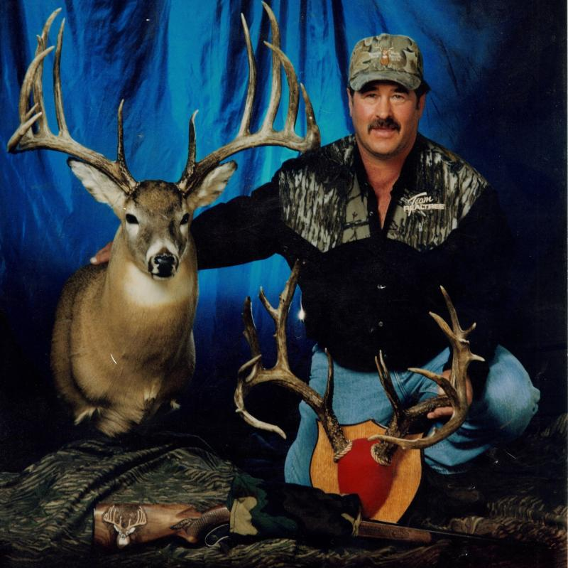 Milo Hanson set the world record for lagest buck in 1993.