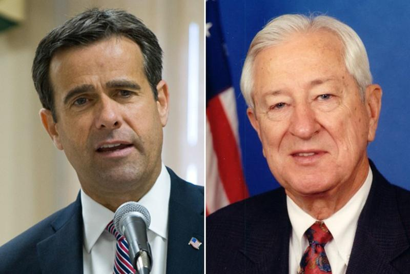 John Ratcliffe says Ralph Hall has been in Washington too long and uses term limits as one of his campaign platforms.