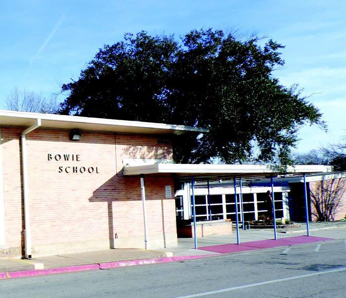 The May 10 election includes a measure to replace the current Bowie Elementary School.