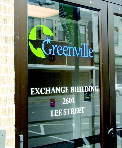 The City of Greenville has received two bids from those interested in purchasing the Paul Mathews Exchange Building downtown.