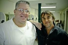 Richard Linklater (pictured right) signed Bernie Tiede's (pictured left) petition for his release and now he has opened up his home for Tiede to live in as part of the terms of his release.