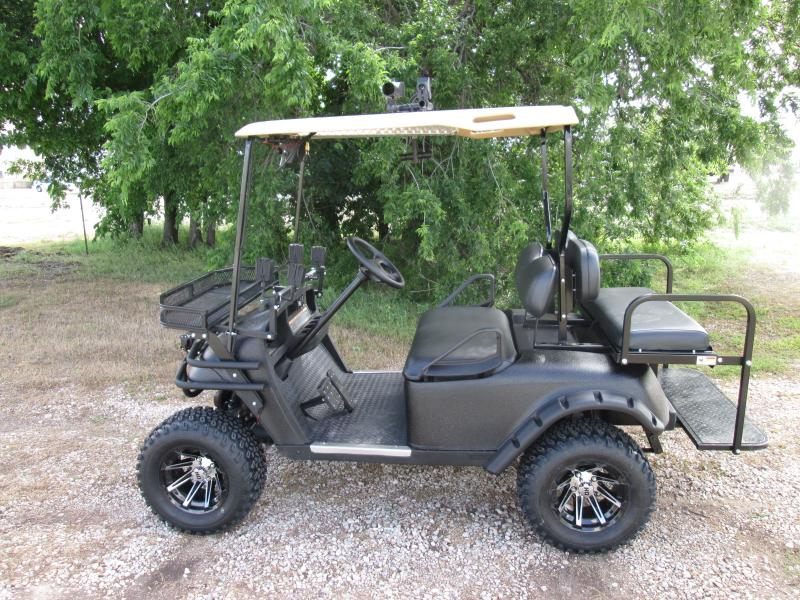 Ken Blackstock's Off Road electric buggy rigged with the Nite Site. These units can now be driven in total darkness without the use of lights. A very stealthy way to sneak up on wild hogs.