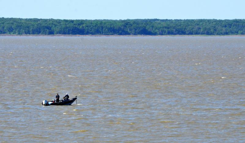 Fishing from a boat resumes on Cooper Lake now that the boat ramps are all open.