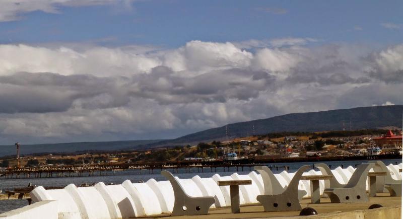 Waterfront view at Punta Arenas.