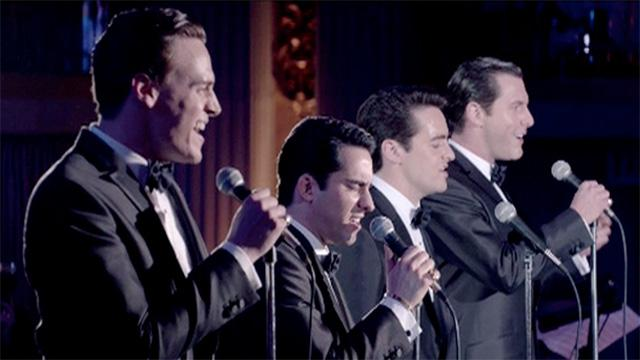 Production photo from Jersey Boys.