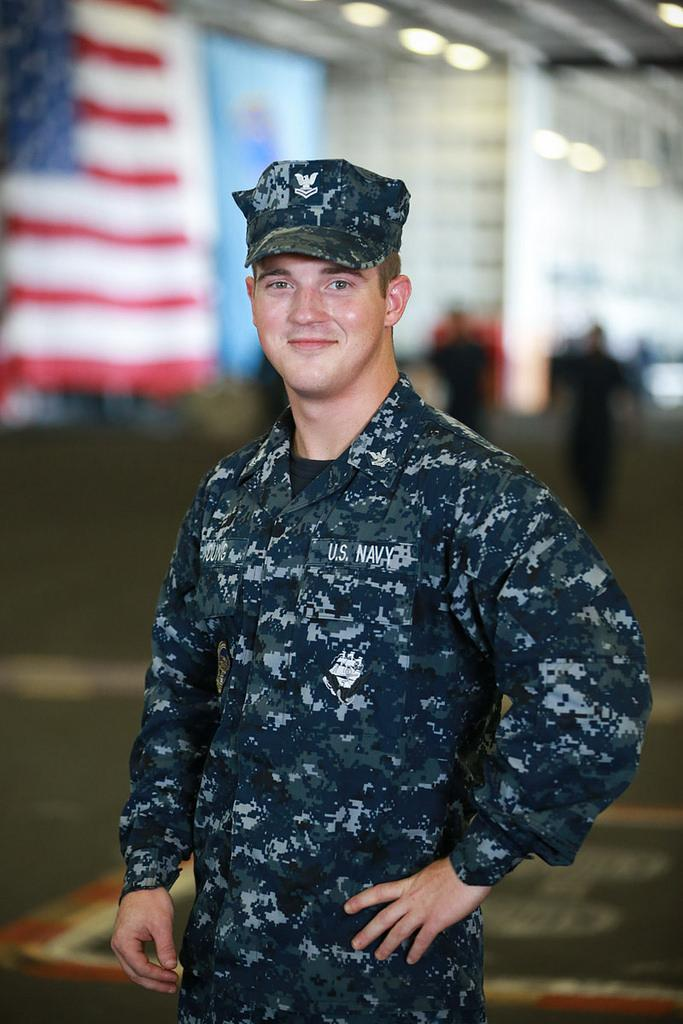Petty Officer 2nd Class Matthew Young