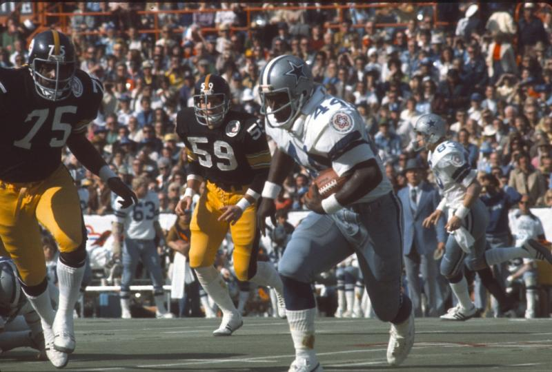 Longview native Robert Newhouse played 12 seasons for the Dallas Cowboys during coach Tom Landry's tenure.