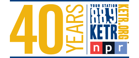 88.9 KETR's fortieth anniversary logo for 2014/2015