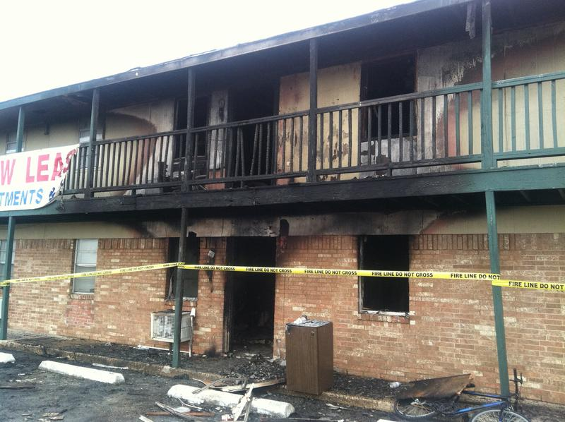 The fire displaced 26 people on the night of Dec. 1.