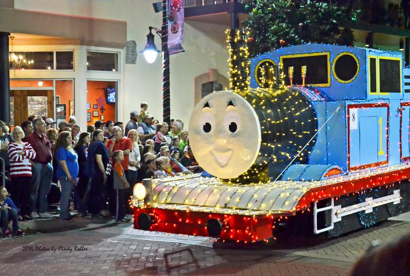 Christmas Lights Train