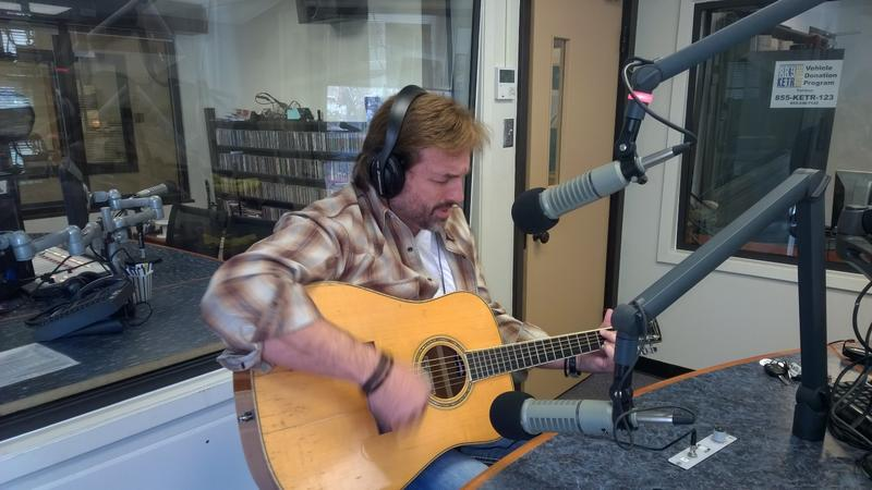 Tony Ramey performing live on Notably Texan.