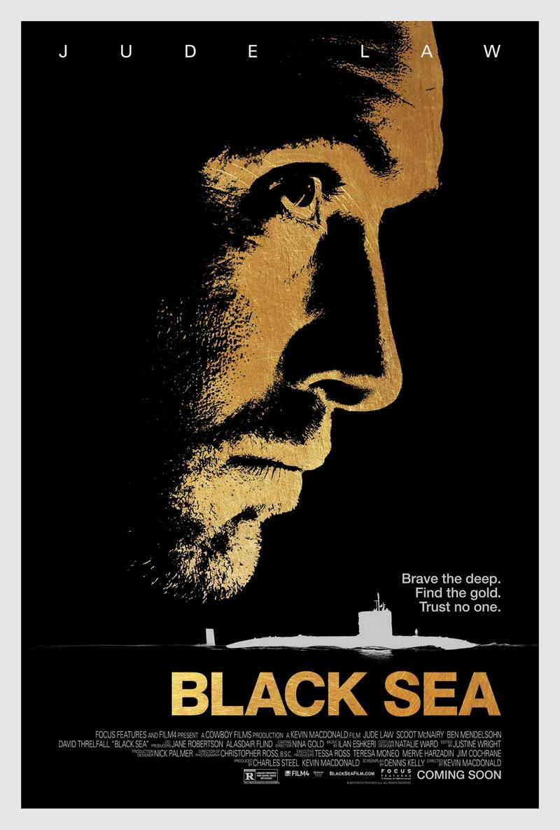 Jude Law stars in 'Black Sea,' a story about an undersea treasure hunt.