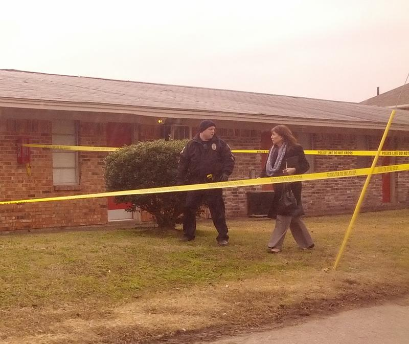 Law enforcement officials responded to a fatal shooting in Commerce on Jan. 13.