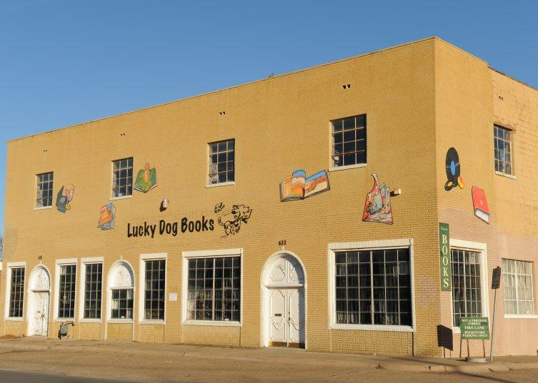 Could Lucky Dog Books, which might lose its Oak Cliff location, be successful in Commerce?