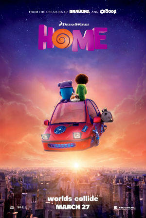 Home features Jim Parsons, Rihanna, Steve Martin, and Jennifer Lopez.