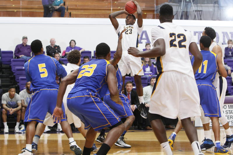 Angelo State defeated A&M-Commerce 85-79 on March 14 in Stephenville.