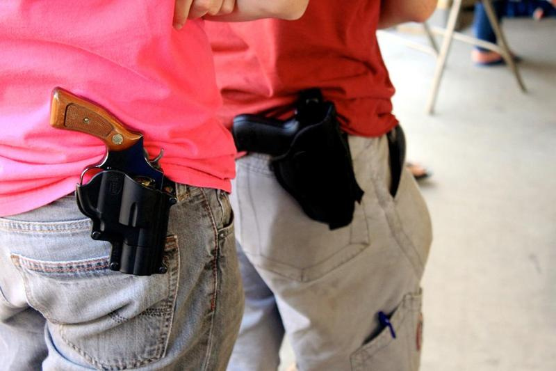 House Bill 910 would allow concealed handgun license owners to openly carry a handgun in public, and House Bill 937 would allow students to carry concealed handguns on a college campus.