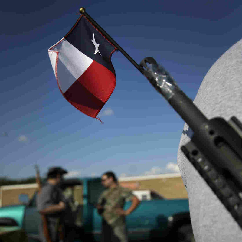 The Texas Senate began debating a bill lifting some of the state's restrictions on handguns this afternoon.