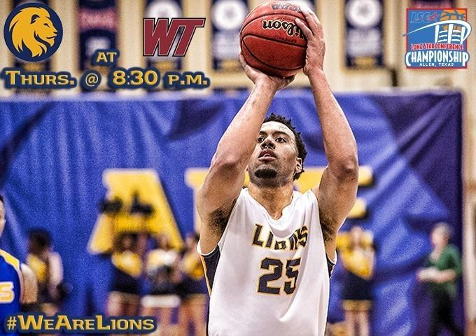 Lone Star Conference Player of the Year Darrell Williams and the Lions begin conference tournament play tonight in Allen.