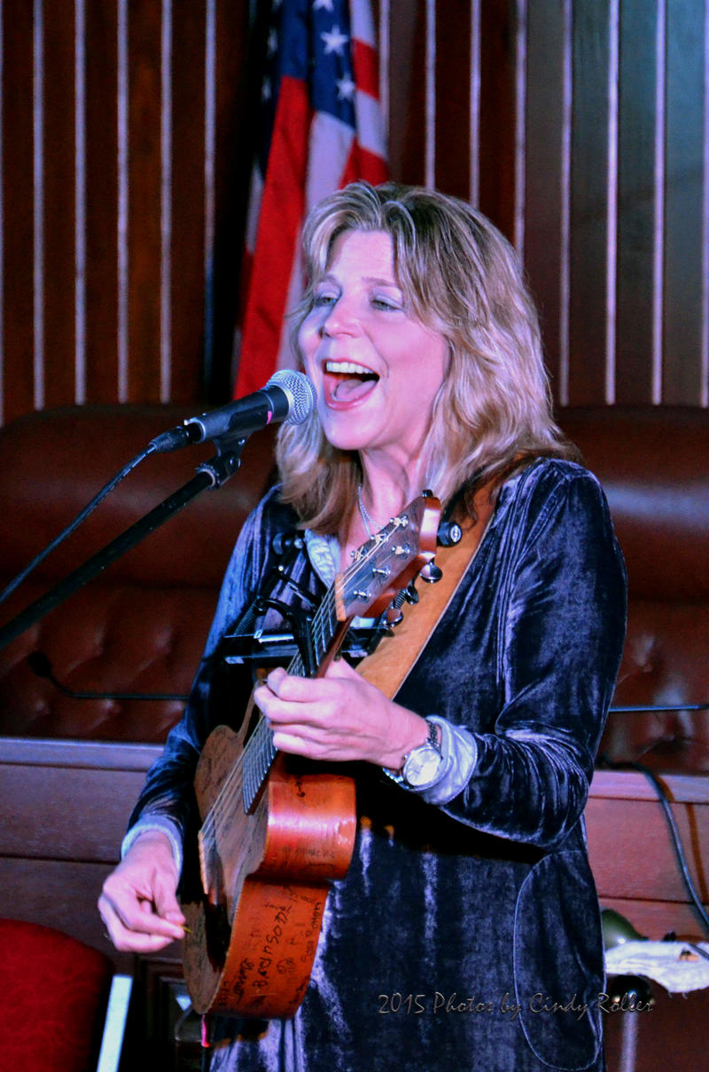 Known for her Grammy award winning Terri Hendrix has released 14 albums in 20 years. She has written a book and created a non-profit organization dedicated music and art. This was her first time in Sulphur Springs.