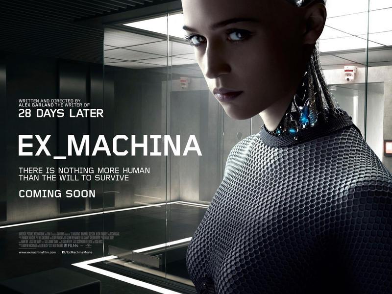 Ex Machina stars Domhnall Gleason, Oscar Isaac, and Alicia Vikander.