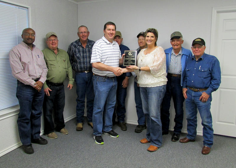 Steve Favre of Riverview Farms has been selected as the Outstanding Wildlife Conservationist by the Delta County Soil and Water Conservation District.