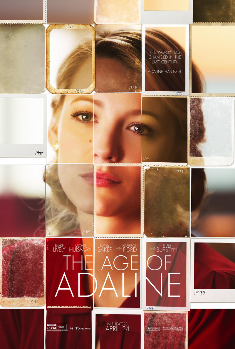 The Age of Adaline stars Blake Lively as a woman stuck in her youth after an accident.