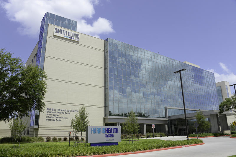 "In Texas, the Harris Health System receives the most money from the uncompensated care pool. In 2013, about 64 percent of Harris Health's patients received charity care or were self-pay, ""a euphemism for no-pay,"" said President and CEO George Masi."