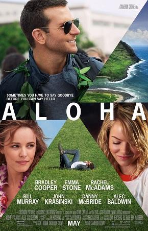 Aloha stars Bradley Cooper, Rachel McAdams, Emma Stone, and Bill Murray.