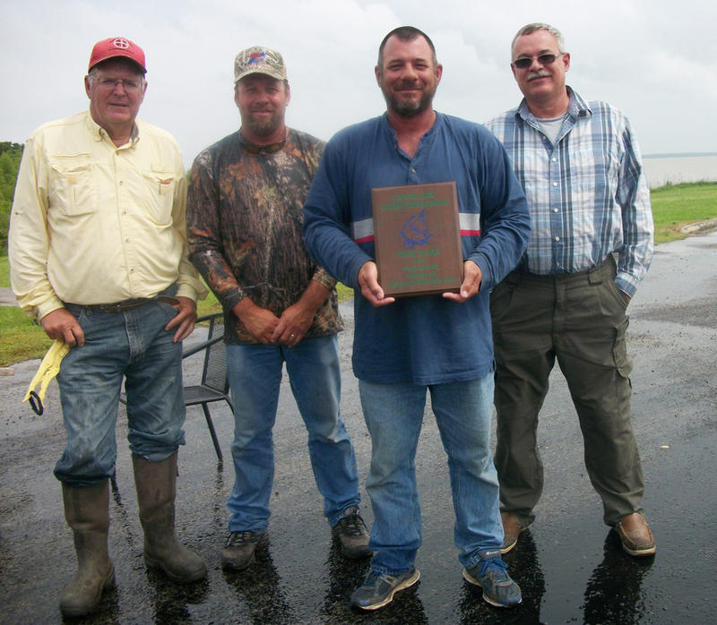 First place winner was Brian Dorner weighing in stringer of five fish at 73.40 pounds.