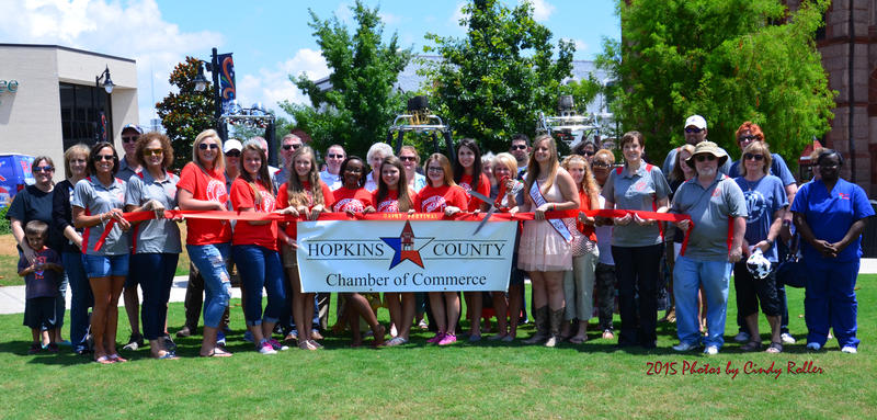 Last Friday Celebration Plaza was the scene of the 2015 ribbon cutting for the start of this year's Dairy Festival.