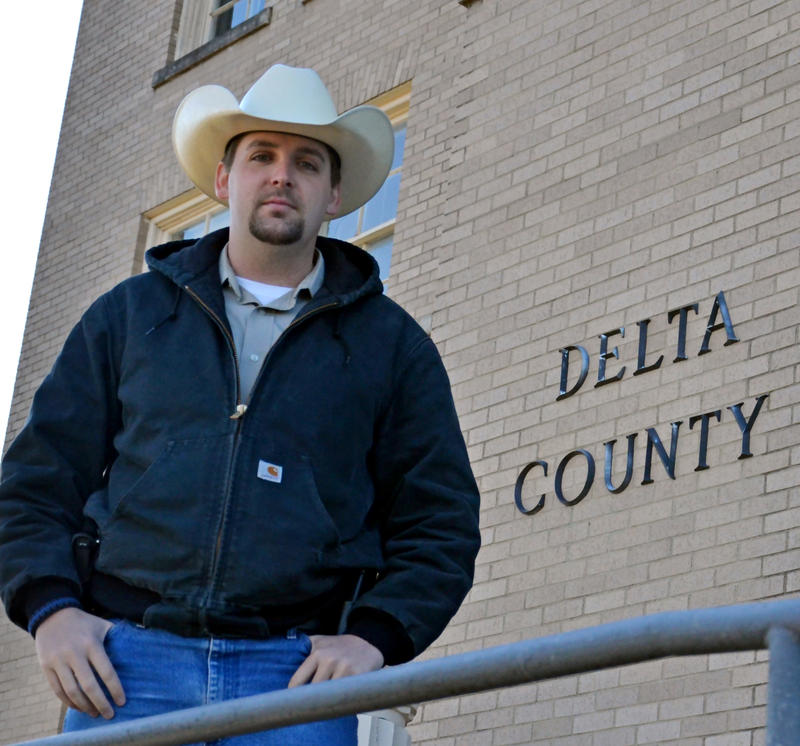 Delta County Sheriff's Office Sergeant Investigator Ryan Brown also serves on the Lake Country Crime Stoppers Board.