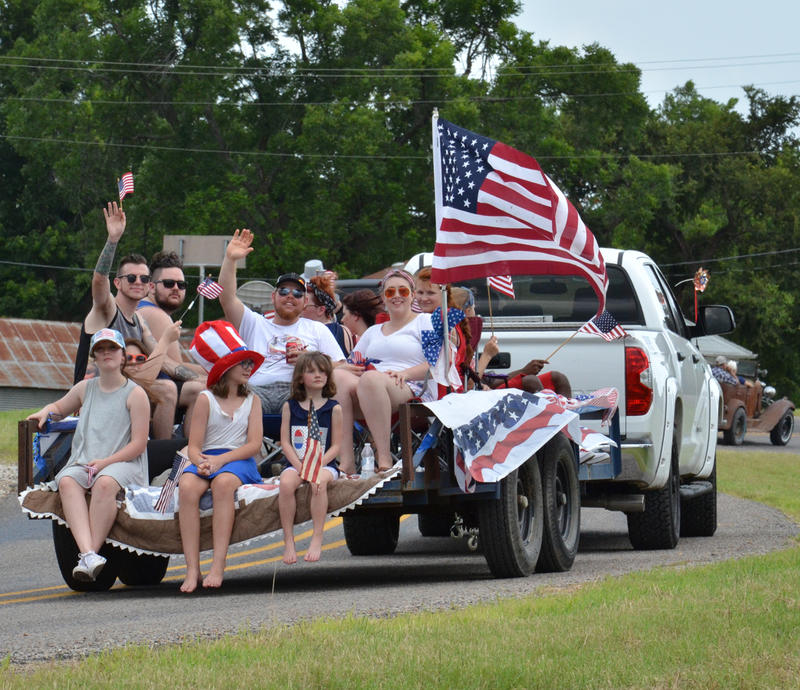 Enloe Patriotic Parade Float