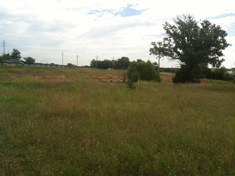 A small part of the roughly 35-acre property faces U.S. Highway 380.