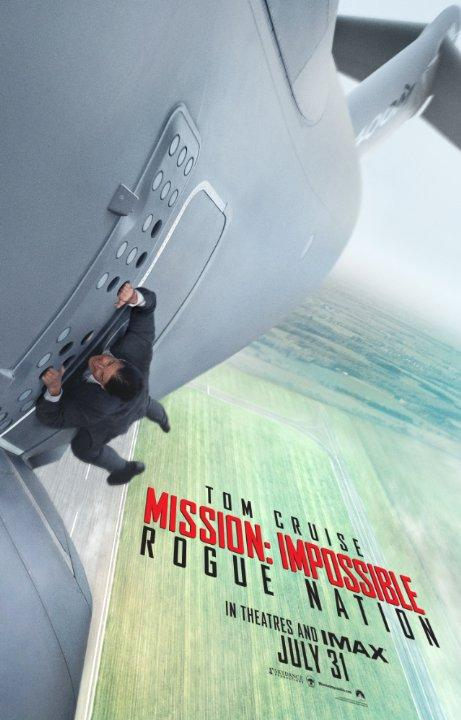 Tom Cruise stars in the fifth installment of the Mission: Impossible franchise.