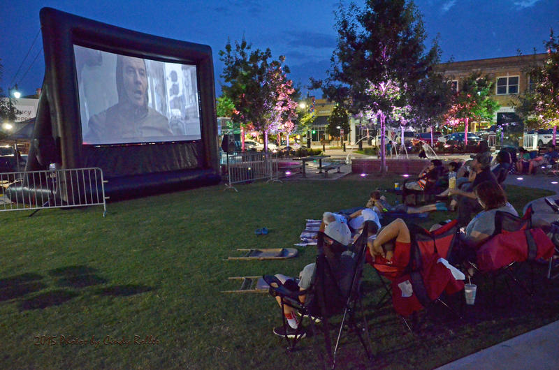 "Friday's movie on Celebration Plaza in Sulphur Springs will be ""Remember the Titans"" perfect free night out for anyone to enjoy."