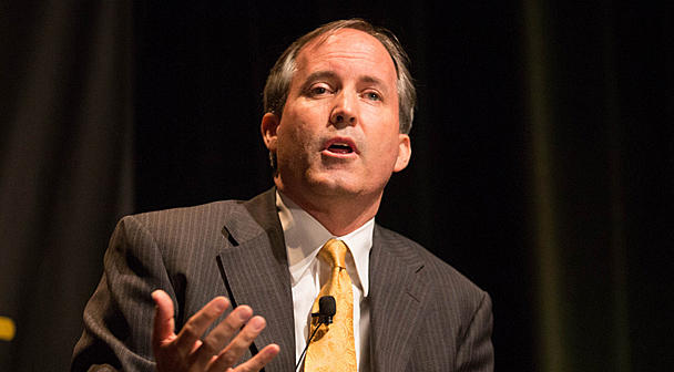 Texas Attorney General Ken Paxton and other state's leaders have been trying to halt the Environmental Protection Agency's effort to better define which waters it protects.