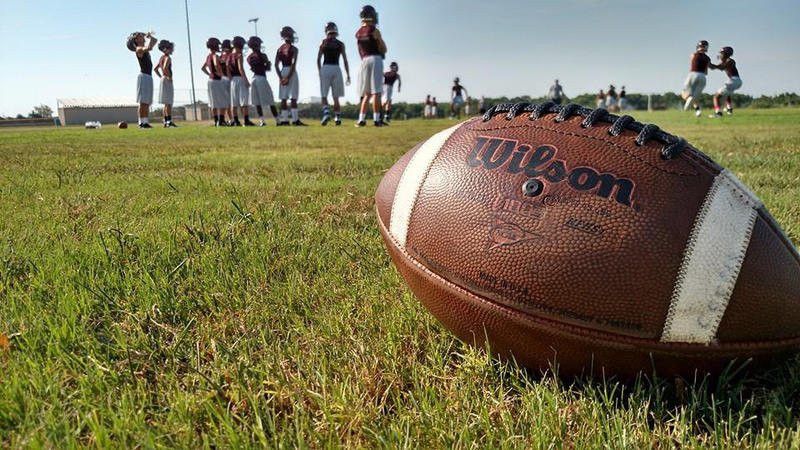 Cooper Bulldogs get started for the 2015 season under the East Texas sun last week.