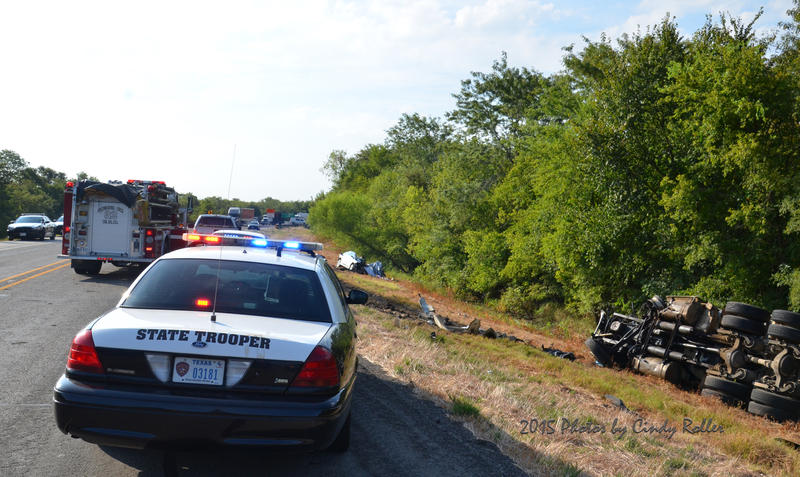 First responders reacted quickly to an accident scene on State Highway 19 Thursday morning.