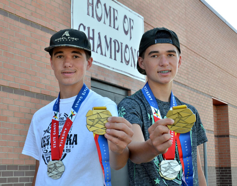 These Champions of Cooper - swimming twins John David and Jeremiah James - brought home Gold medals and more from recent National competition in Nebraska.