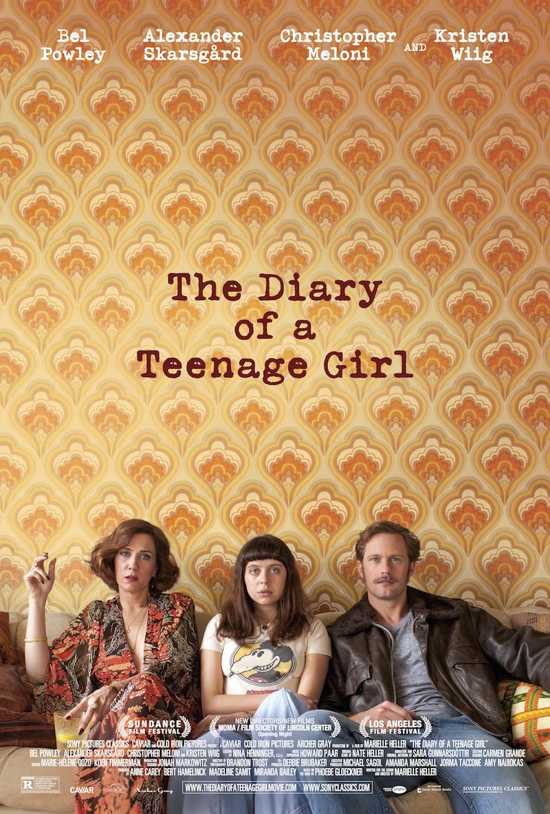 "Bel Powley stars in ""The Diary of a Teenage Girl,"" a story of a sensitive girl coming of age in the hedonistic 1970s."