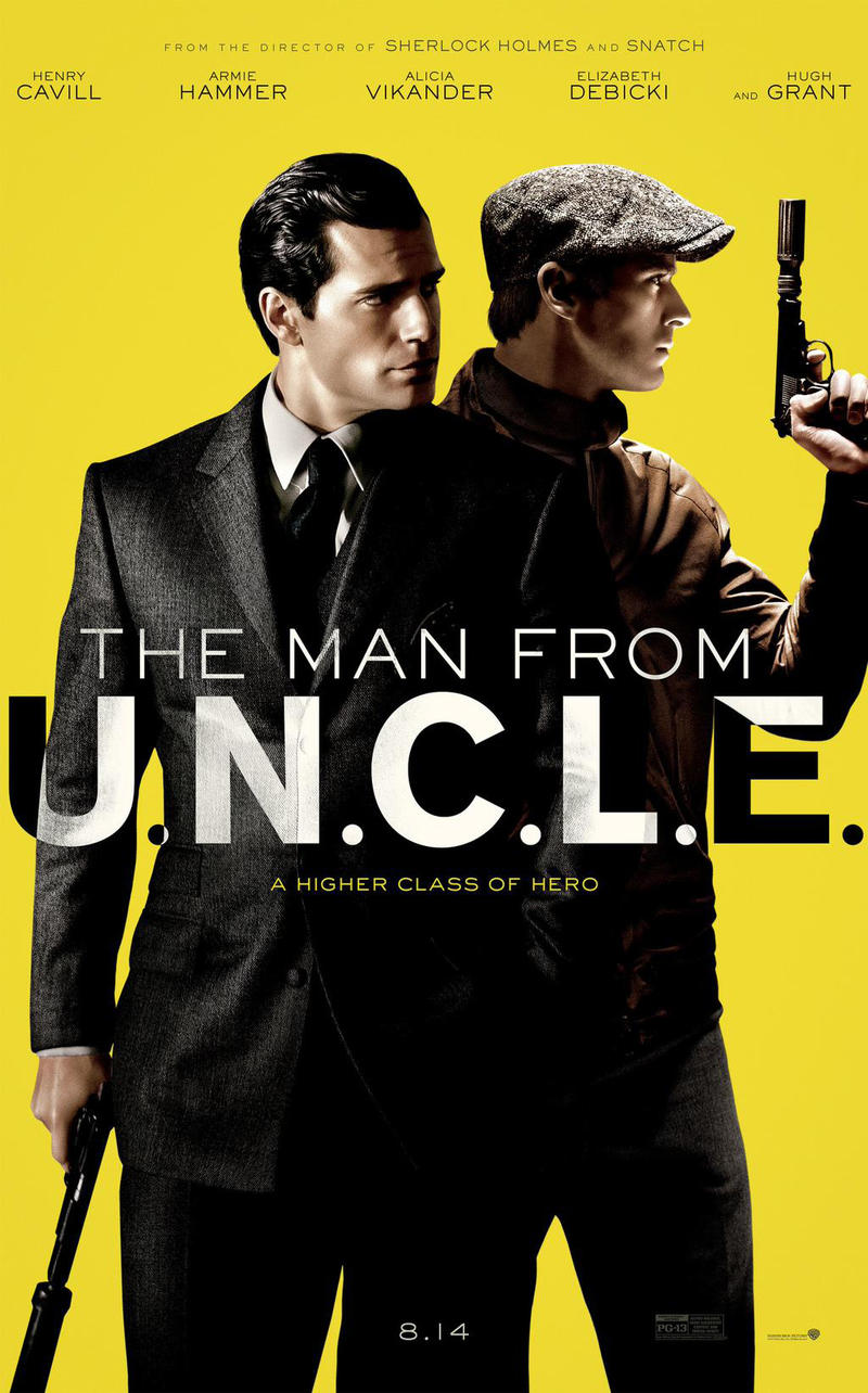 The Man from U.N.C.L.E. stars Henry Cavill and Armie Hammer as an unlikely team on a hunt for a nuclear device.