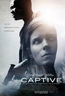 Captive stars David Oyelowo and Kate Mara.