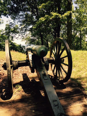 Civil War era cannon, preserved on Kennesaw Mountain in Georgia.
